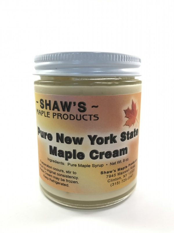 Large Jar of Pure NYS Maple Cream