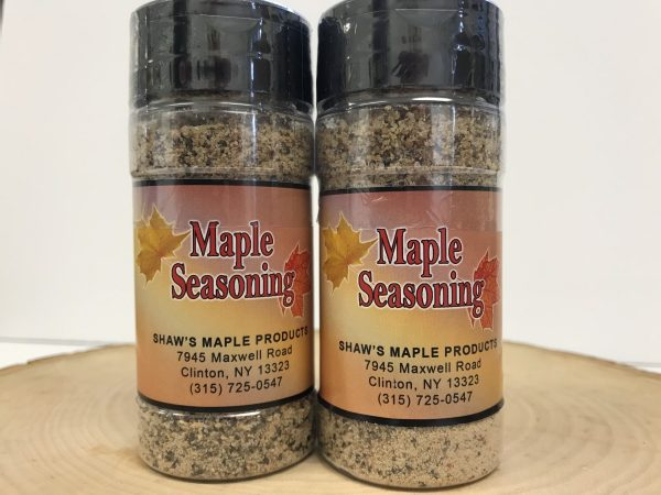 Two Containers of Maple Seasoning