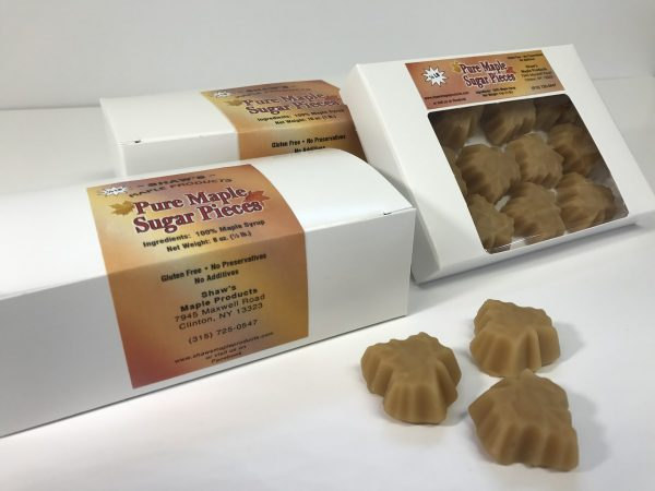 Boxes of Pure Maple Sugar Pieces