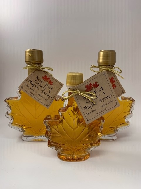 Maple Leaf Pure Maple Syrup Bottles