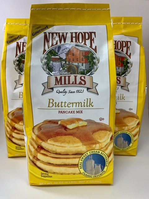 Packages of Buttermilk Pancake Mix