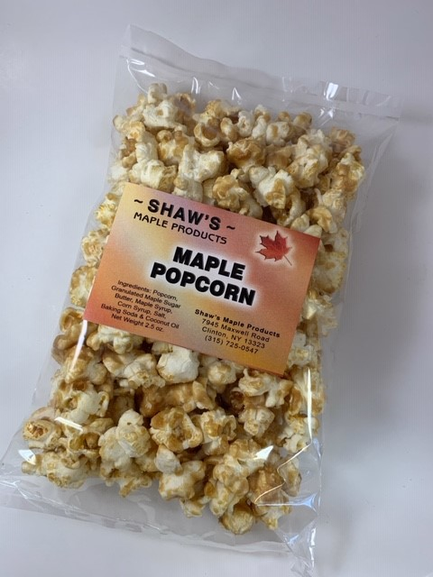Package of Maple Syrup Popcorn